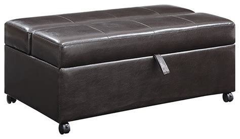 twin bed ottoman hide a way ottoman twin sleeper by emerald home furnishings contemporary futons