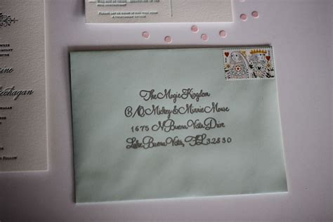 Cover Letter Address With Suite Fancying Up Your Wedding Invitations Diy Two Delighted