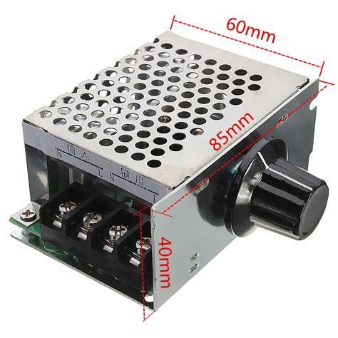 4000w 220v ac scr electric voltage regulator dimmer motor