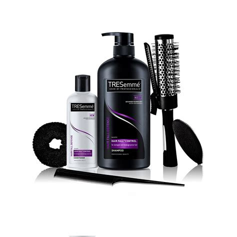 buy styling products all styling products and hair spray tresemme free hair styling kit worth rs 500 with hair fall