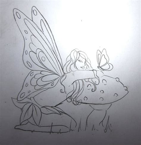 faerie tattoo designs faerie sketch by nevermore ink on deviantart