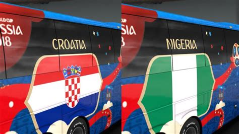 fifa world cup  russia group  official buses volvo   bus mod ets mod