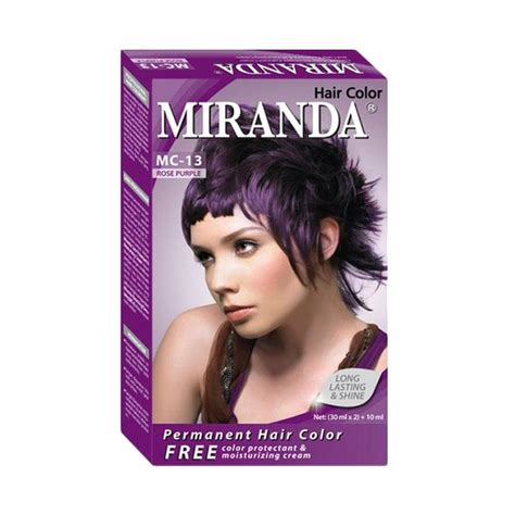 A31 Miranda Hair Color 30ml jual miranda hair color mc13 purple 30 ml