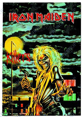 Plakat Iron Maiden by Plak 225 T Vlajka Iron Maiden Killers Prorockshop