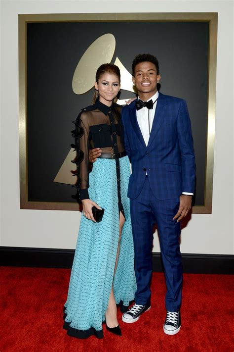 zendaya and trevor jackson clothes pinterest