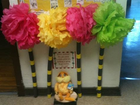 How To Make Lorax Trees Out Of Tissue Paper - tissue paper truffula trees for the lorax dr seuss