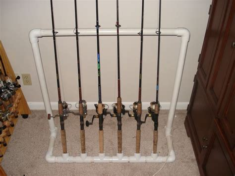 How To Build A Fishing Pole Rack by Fishing Pole Storage Fishing Rod Storage Rack