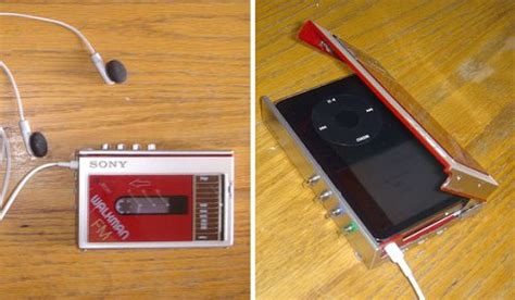 Ipod Design Takes The Sophisticated Route by Walkman Hides Ipod Ubergizmo