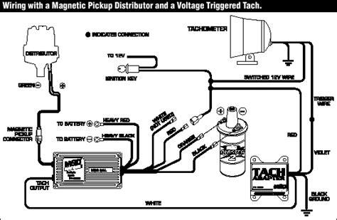 msd 6al tach wire wiring diagrams wiring diagram schemes