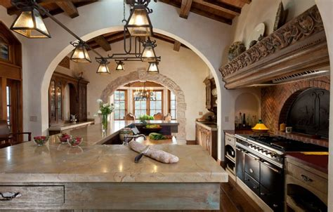 Spanish Kitchen Design by Interiors Net Style Shopper