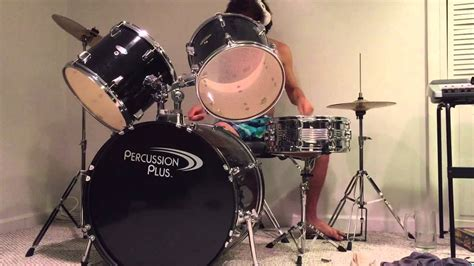 Topsoundsaudio Faces Drum Kit cover of quot hammer smashed quot on a beginner s drum set drum audio only