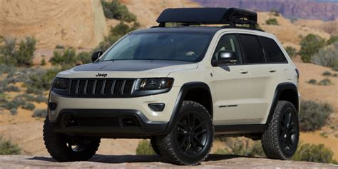 Jeep Grand Aftermarket Parts Jeep Grand Ecodiesel Trail Warrior Concept