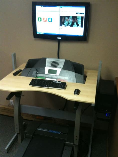 Treadmill Computer Desk 17 Best Images About Treadmill Desk On Pinterest Healthy Lifestyle Ikea And Workout At Work