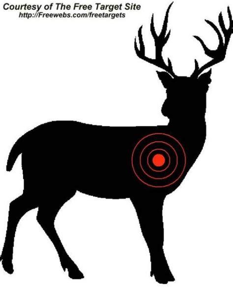 printable paper deer targets 38 best right on target targets for shooting images on