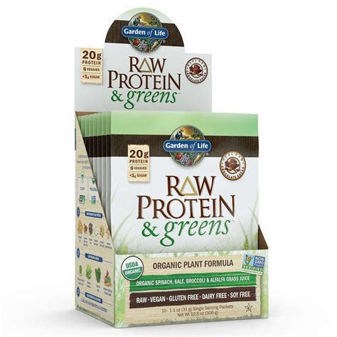 Garden Of Protein And Greens Garden Of Protein And Greens Packets Chocolate