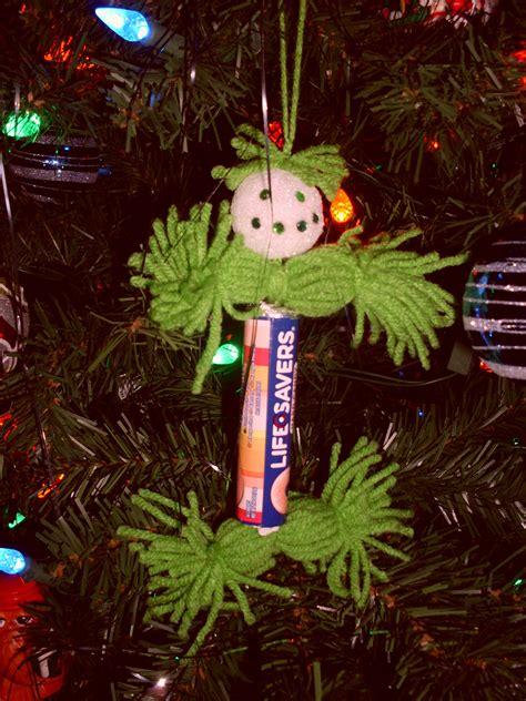 lifesaver christmas ornament school pinterest