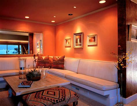 Orange Room Decor by Orange Decorations For Living Room Peenmedia