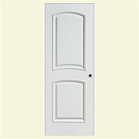 Masonite 36 In X 80 In Palazzo Bellagio Smooth 2 Panel Masonite Prehung Interior Doors