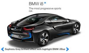 bmw i8 quot visualizer quot now configure your own