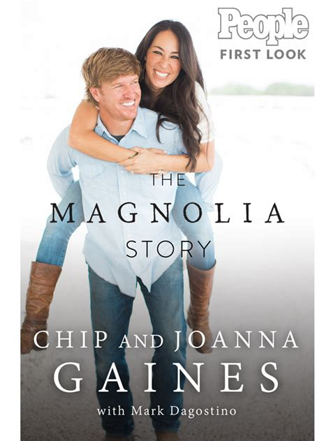 fixer upper book chip and joanna gaines memoir cover reveal people com