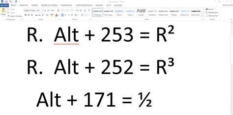 simbolo raiz cuadrada en word c 243 mo escribir al cuadrado o al cubo en word y en office en