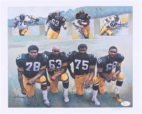 who were the members of the steel curtain steel curtain members