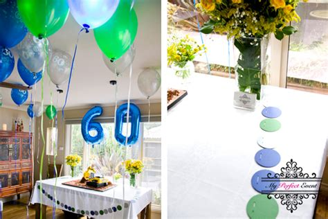 60th birthday table decorations ideas image inspiration