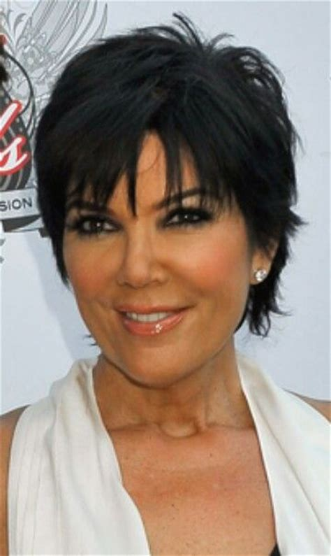 pic of back of kris jenner hair cut kris jenner haircut pictures back view short hairstyle