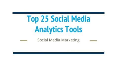 best social media analytics tools top 25 social media analytics tools