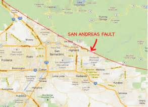 map of san andreas fault in southern california we visit the doomed homes on the san andreas fault