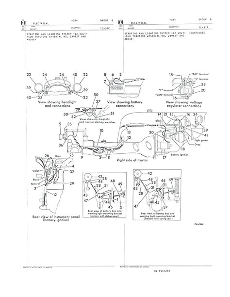diagram farmall h wiring diagram conversion