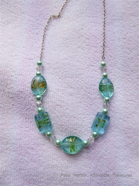 glass bead jewelry ideas glass beaded necklaces www imgkid the image kid