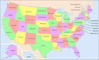 a map of the america america map