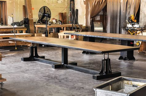 Industrial Conference Table Vintage Industrial Conference Table Vintage Industrial Furniture