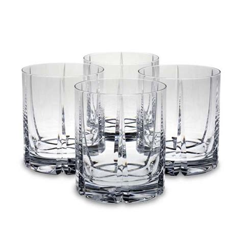 reed and barton barware reed barton 5915 4282 tulipe double old fashioned glass