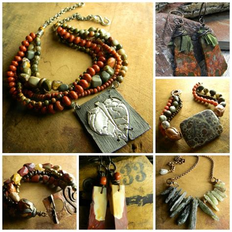 Handmade Tribal Jewellery - chrysalis tribal jewelry handmade rustic primitive