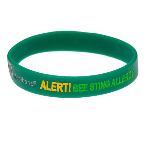 shoo for allergies allergy warning bracelets bracelets for allergies