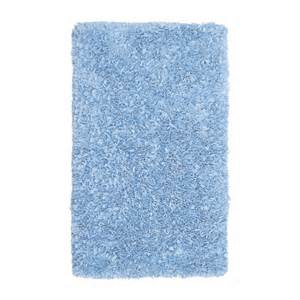 the rug market 02203 shaggy raggy light blue area rug