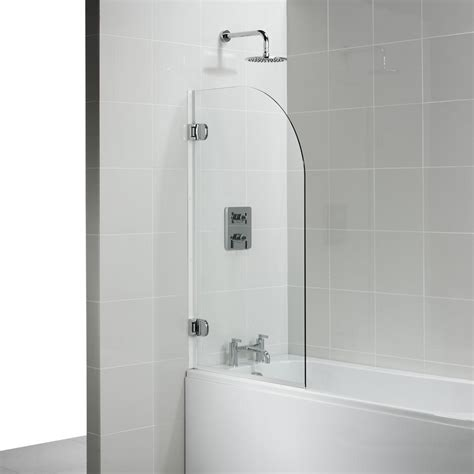 shower screen for bathtub ideal standard connect rialto bath shower screen e1016 e1016