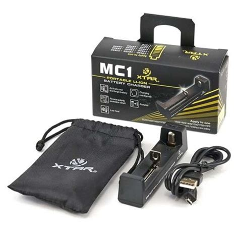 hardware mc1 battery charger by xtar fogg