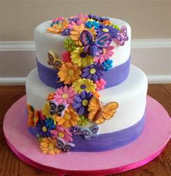 birthday cakes flower cakes decoration ideas birthday cakes