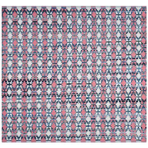 montauk rug safavieh montauk coral multi 6 ft x 6 ft square area rug mtk123d 6sq the home depot