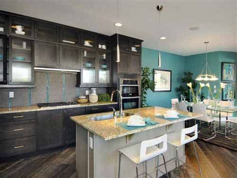 kitchen colors with dark wood cabinets 25 best teal kitchen walls ideas on pinterest