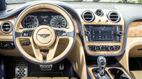 bentley interior 2017 bentley bentayga interior
