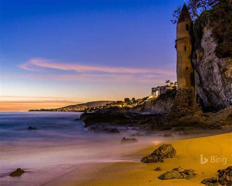 california  tower  victoria beach laguna beach