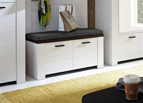 modern shoe storage bench modern shoe bench with cabinet and far rug white colours
