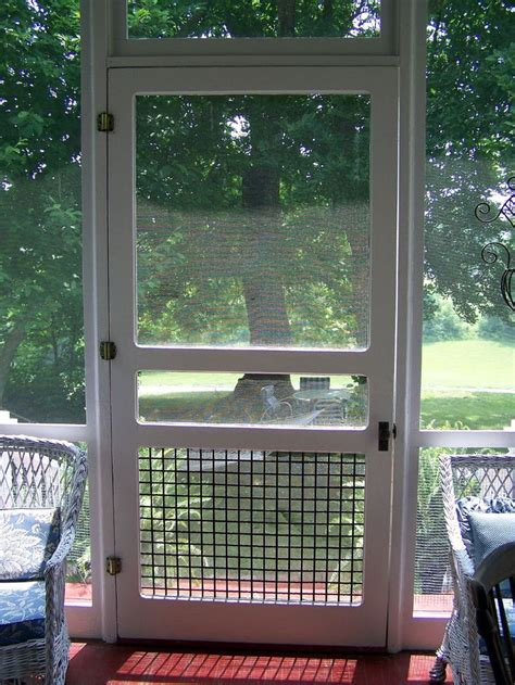 screen porch doors screened porch ideas on 57 pins