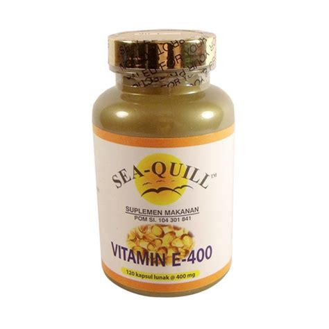 Sea Quill Vitamin E Jual Sea Quill Vitamin E 400 Iu Multivitamin Isi 120