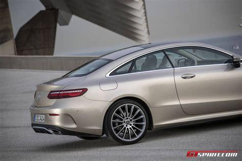 mercedes benz silver 2017 mercedes benz e class coupe review gtspirit