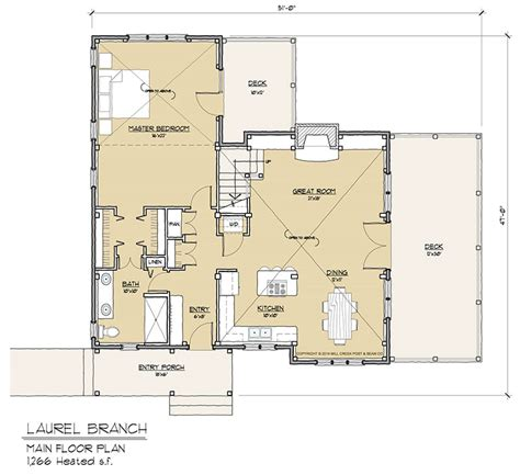 timber floor plans laurel branch timber frame floor plan by mill creek